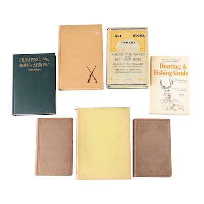 """Hunting Books featuring 1946 Signed """"Good Shot!"""" by Bob, Dan, and Ray Holland"""