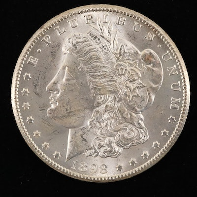 1898-O Silver Morgan Dollar