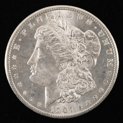 1901-O Silver Morgan Dollar