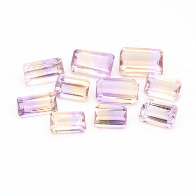 Loose 36.07 CTW Ametrine Gemstones