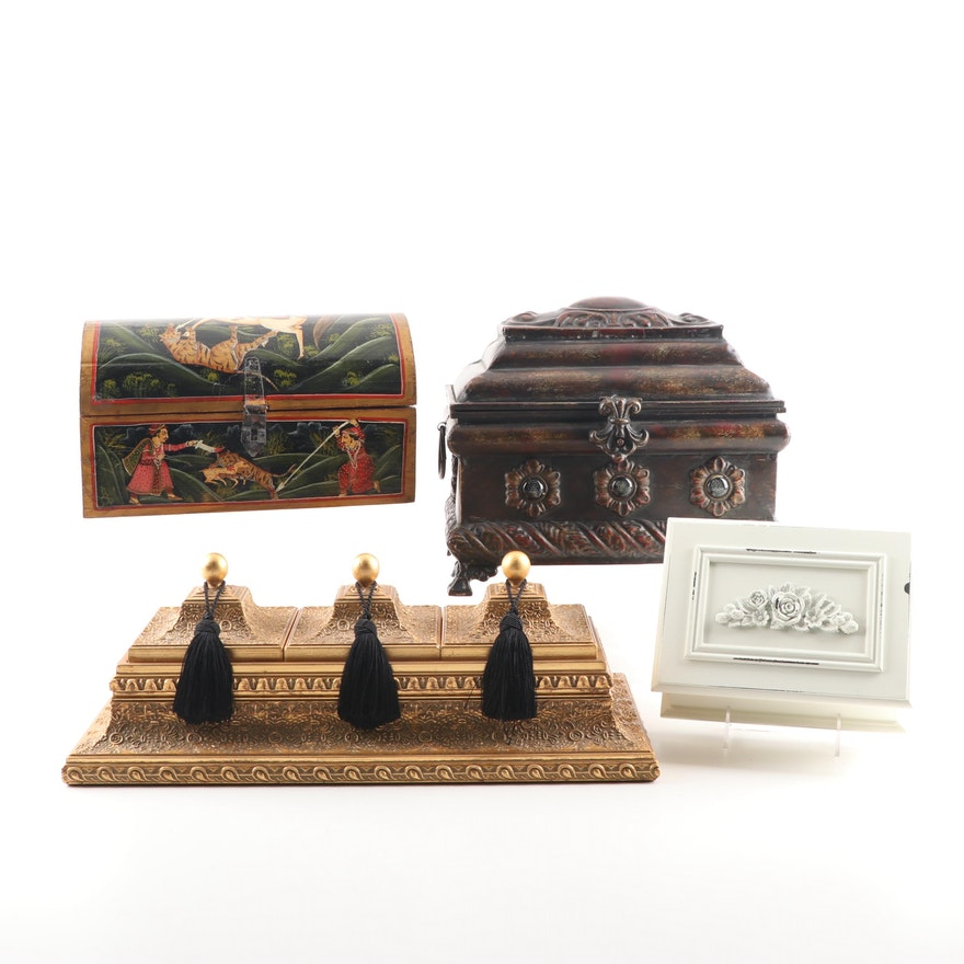Contemporary Decorative Boxes Grouping