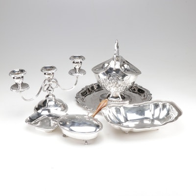 Silver Plate Serveware Collection
