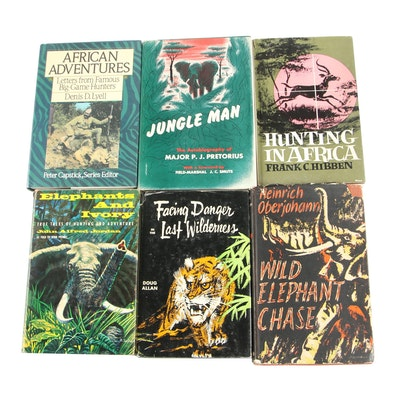 "Hunting Memoirs and Books featuring 1948 First American Edition ""Jungle Man"""