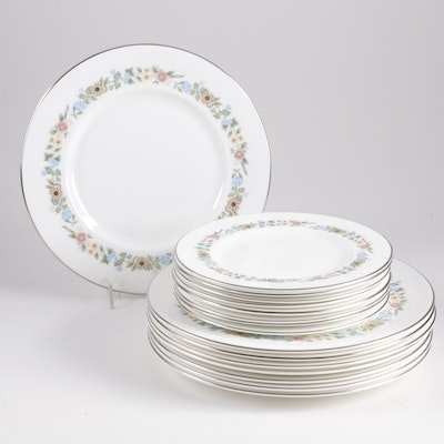 "Royal Doulton ""Pastorale"" Pattern Dinnerware, Setting for Eight"