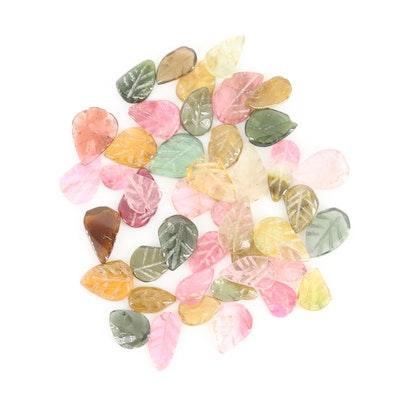 Loose 20.42 CTW Tourmaline Gemstones