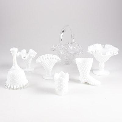 Decorative Glassware Featuring Fenton