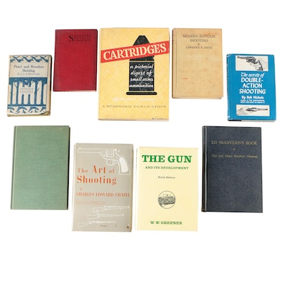 "Firearms Books including Signed ""The Secrets of Double-Action Shooting"""