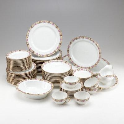 Bawo & Dotter Limoges Porcelain Dinnerware, Circa 1920-1932