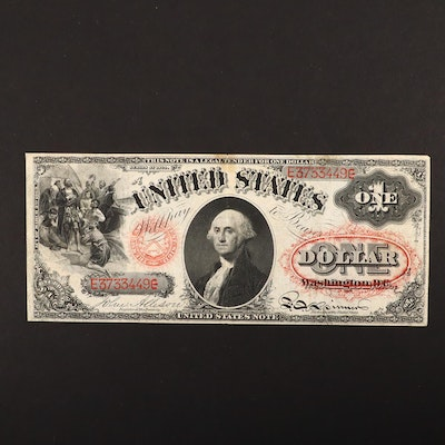 Series of 1874 U.S. $1 Legal Tender Note