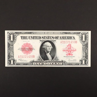 Series of 1923 U.S. $1 Legal Tender Note