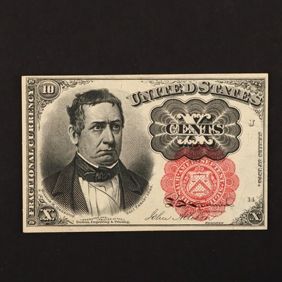 1874 U.S. 10-Cents Fractional Currency Note