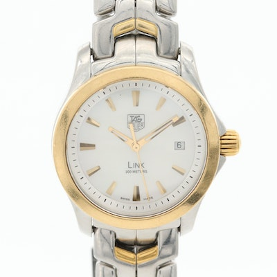 TAG Heuer Link 18K Gold and Stainless Steel Quartz Wristwatch