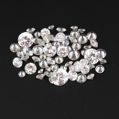 Loose Cubic Zirconia Gemstones