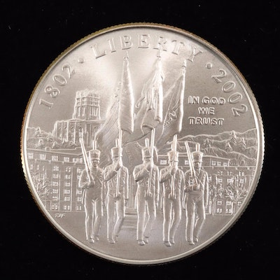 2002-W West Point Bicentennial Commemorative Silver Dollar