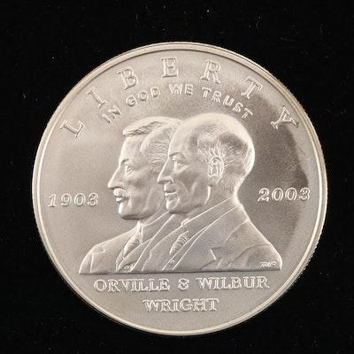2003-P Wright Bros. First Flight Centennial Commemorative Silver Dollar