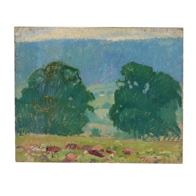Robert Whitmore Landscape Oil Painting