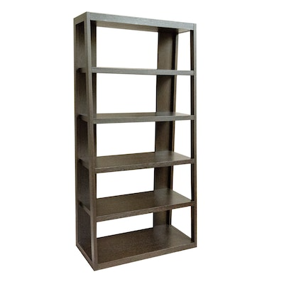 West Elm Modern Espresso Bookcase