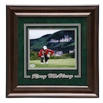 Framed Rory McILroy Signed Photo Print  COA Sticker