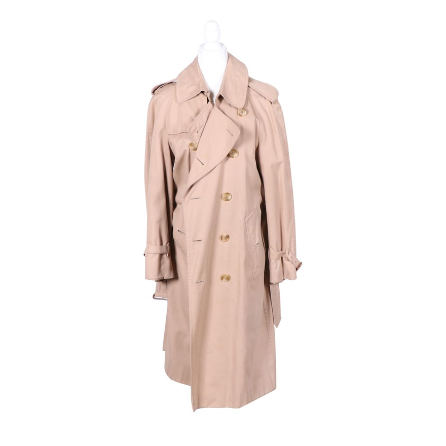 Burberrys Double-Breasted Trench Coat