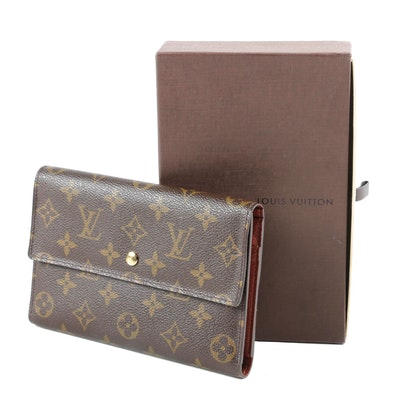 Louis Vuitton Paris Passport Pochette Trifold in Monogram Canvas