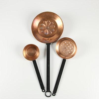 Decorative Copper Pans