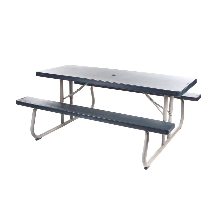 Lifetime Plastic Picnic Table, Contemporary