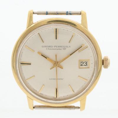 Vintage Girard-Perregaux Gyromatic 18K Gold Watch