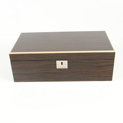 Contemporary Luxury Cases by Jere Wright Jewelry Box with Glossy Finish