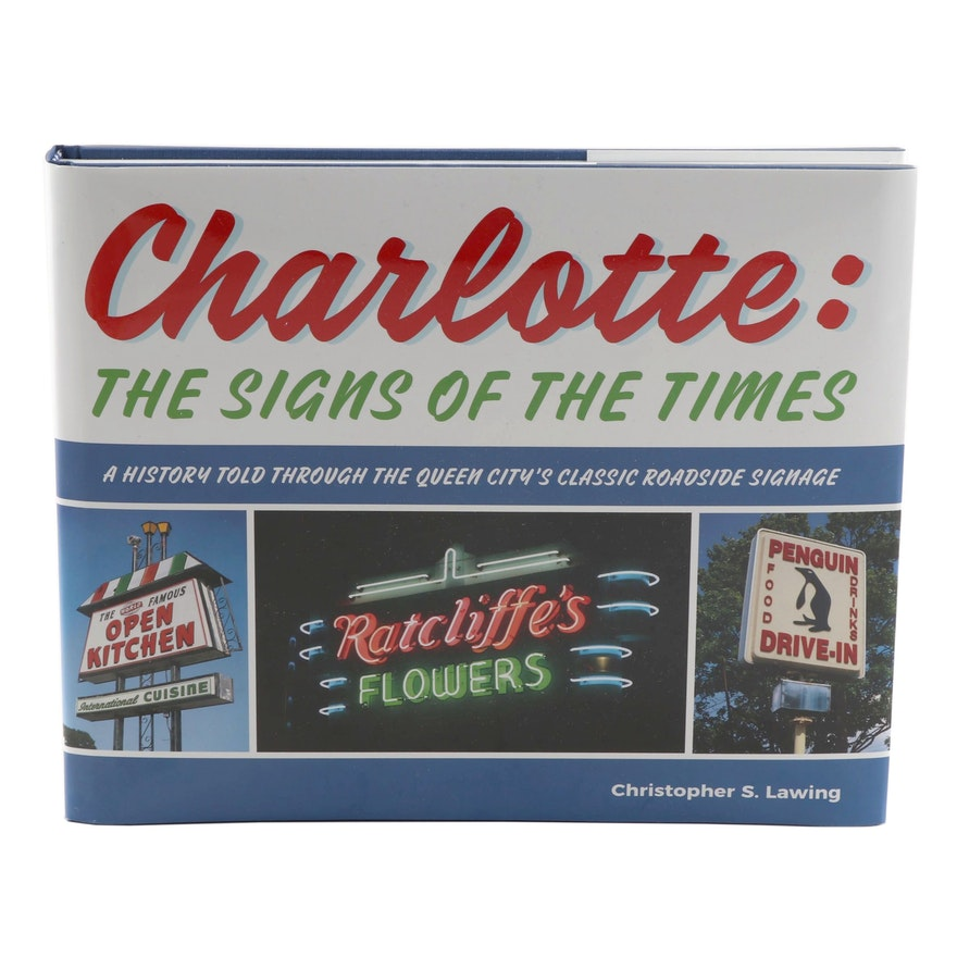 """Signed First Edition """"Charlotte: The Signs of the Times"""" Book"""