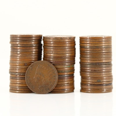 Seventy-Four Indian Head Cents