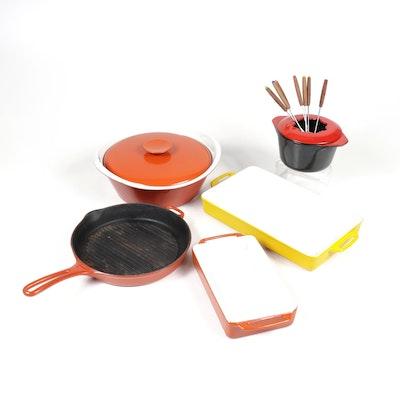 Enamelled Cast Iron Cookware