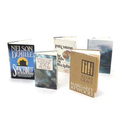 Signed Novels by Popular Authors Featuring Margaret Atwood