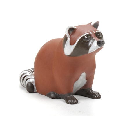 Nicodemus Ferro-Stone Raccoon Figurine