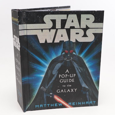 """Star Wars"" Pop-Up Guide to the Galaxy Book by Matthew Reinhart, 2007"