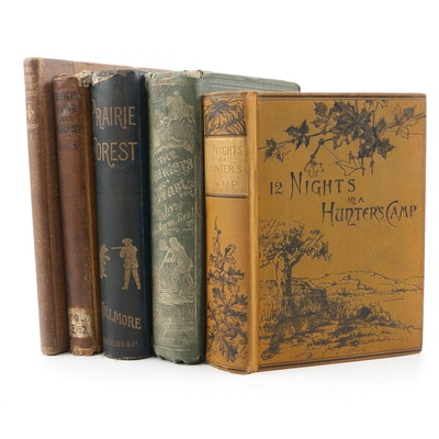 "Hunting Books including ""The General"" by William Barrows, 1869"