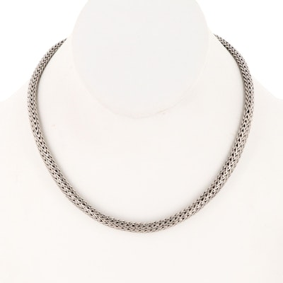 "John Hardy Sterling Silver ""Classic Chain"" Necklace"