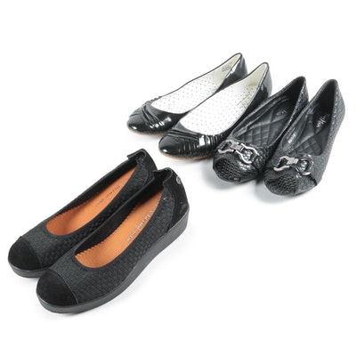 Women's Flats Including Bernie-Mev, Tory Klein and Soft Style by Hush Puppies
