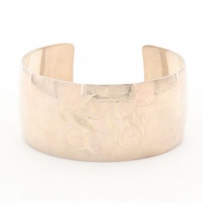Niel Erik From Sterling Silver Cuff Bracelet