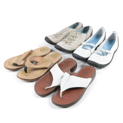 Women's Clarks, Privo and Naturalizer Sandals and Sneakers