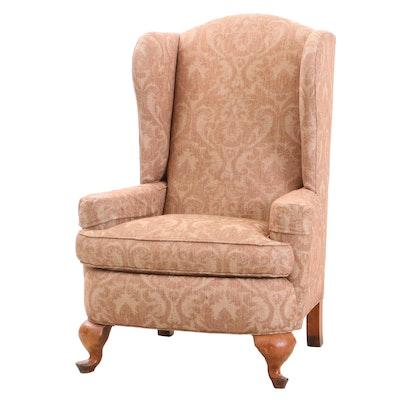 """Henredon """"Registry"""" Wingback Upholstered Armchair"""