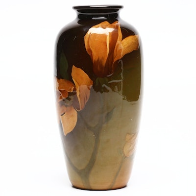 Lawrence Sturgis Arts and Crafts Rookwood Pottery Vase, 1900