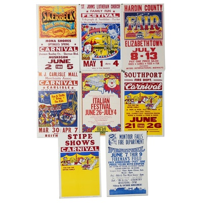 Triangle Poster & Printing Co. Carnival and Festival Posters