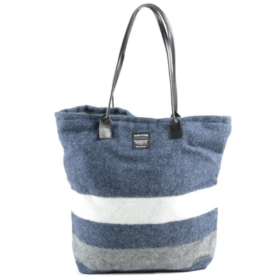 Limited Edition R.Riveter Betty Wall Tote Featuring Fairbault Wool