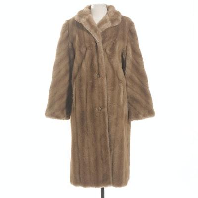 Russel Taylor Faux Fur Coat, Vintage