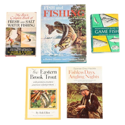 "Fishing Books featuring ""Fishless Days, Angling Nights"" by Sparse Grey Hackle"