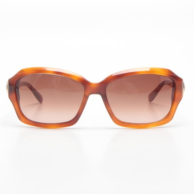 David Yurman Albion Sunglasses with Gold Vermeil and Citrine Accents