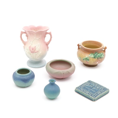 Rookwood, Roseville, Van Briggle and Other Art Pottery