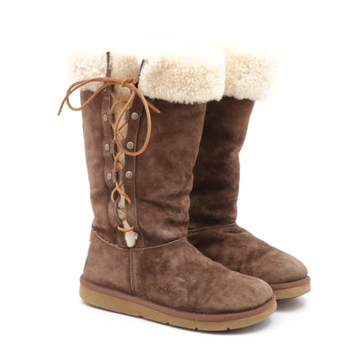 UGG Australia Sheepskin Shearling Lined Tall Boots