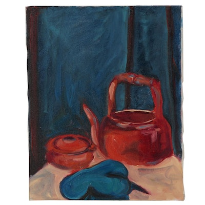 Rebecca Sharfman Still Life Oil Painting