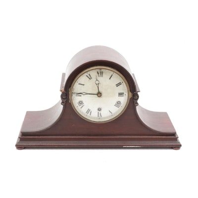 H.A.C. German Tambour Mantel Clock